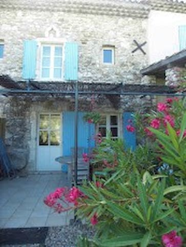Charming house with pool - Espeluche - Talo