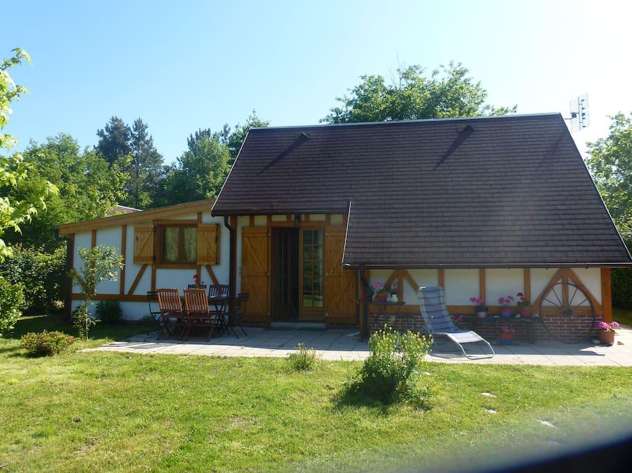 Chalet de 80 M2 avec jardin et terrasse