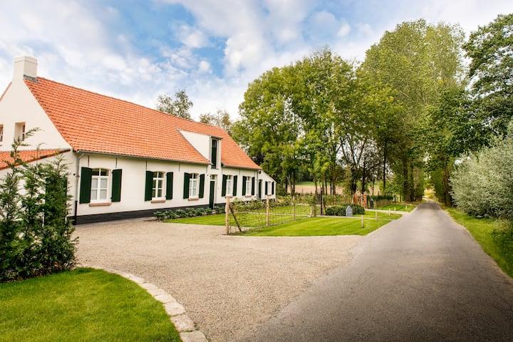 Cottage de Vinck - Puur genieten tot 18 personen.