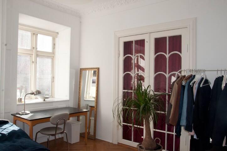 Cosy room in lively Nørrebro CENTRAL COPENHAGEN