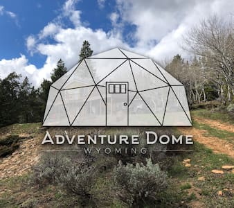 Adventure Dome - Wyoming Geodesic Cabin Escape