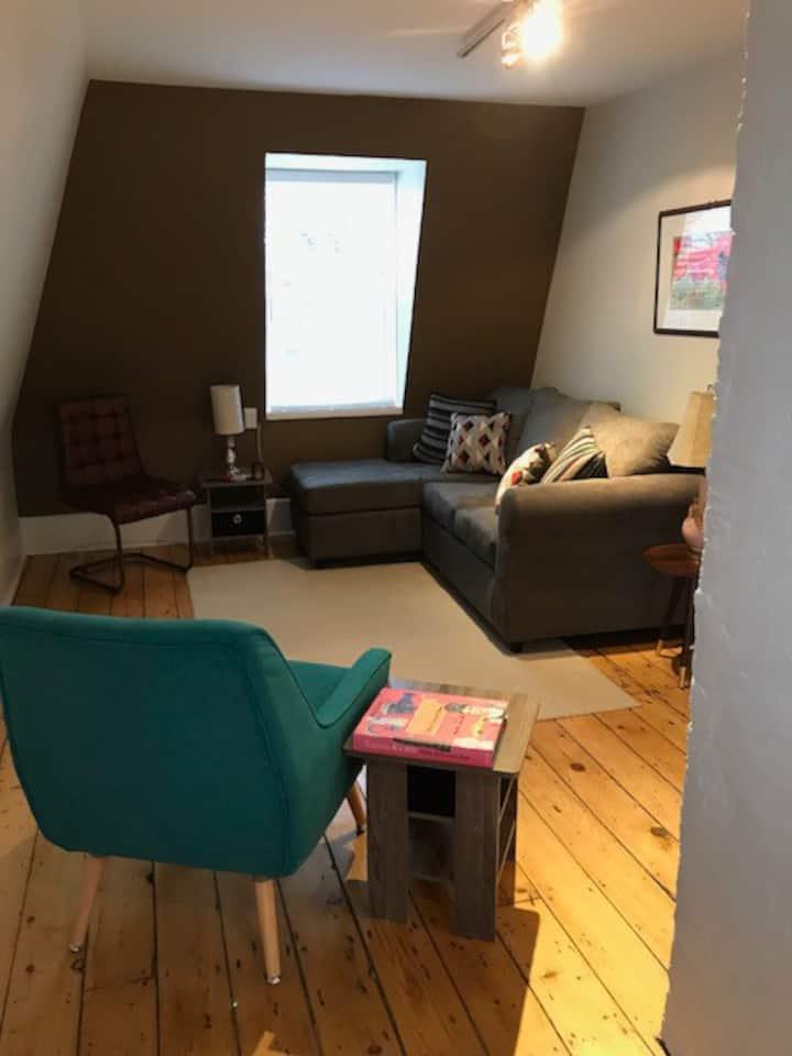 Pentz-Howe House Loft Apartment