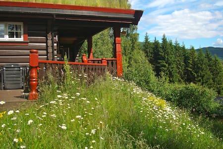 Handcrafted log cabin. - Søndre Land
