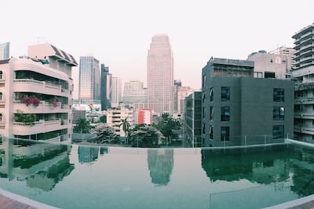 BANGKOK HEART Nana Sukhumvit with infinite pool '2