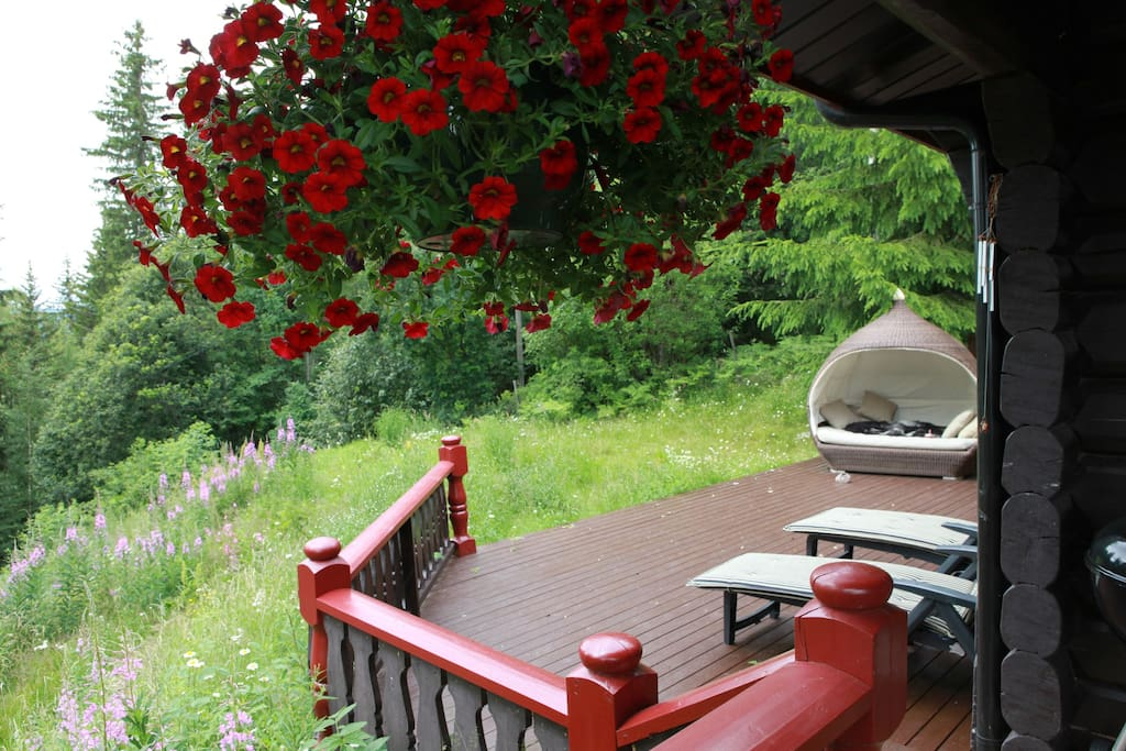 Sundeck with daybed