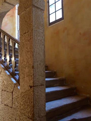 Escalier de l'immeuble