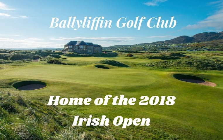Irish Open golfing retreat.