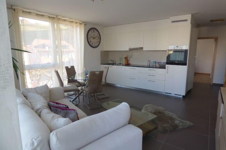 Appartement moderne à Romont