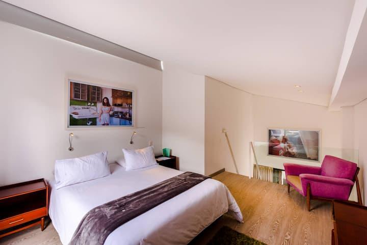 GD Economico y exclusivo Apartaestudio Duplex