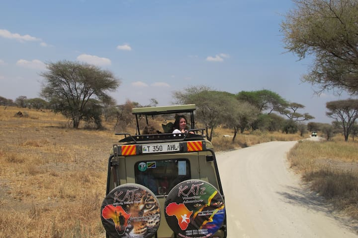 One of our highly recommended KATz safaris can be booked on site