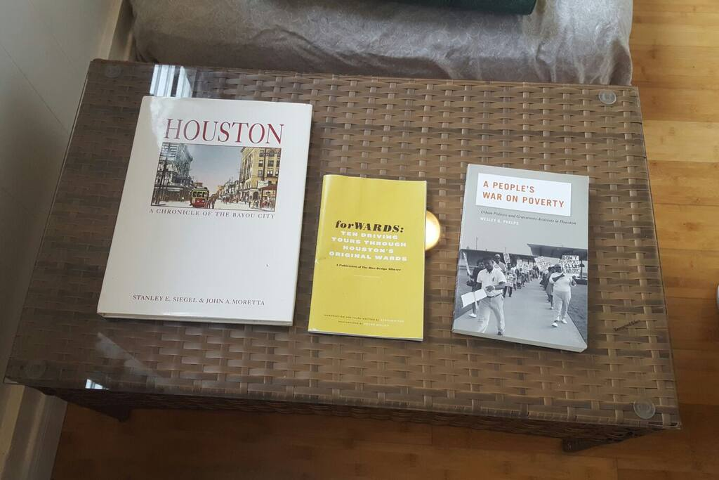 Read up about Houston!