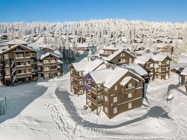 Ski in/ski out apartment in Fageråsen Trysil
