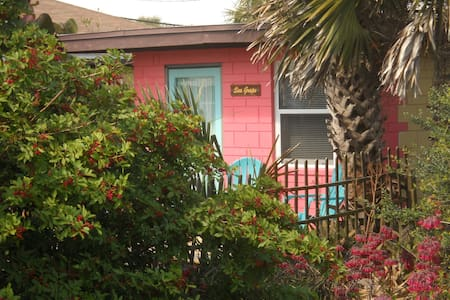 Sea Grape Cottage - Beach/Downtown! - 弗拉格勒海滩 (Flagler Beach) - 独立屋