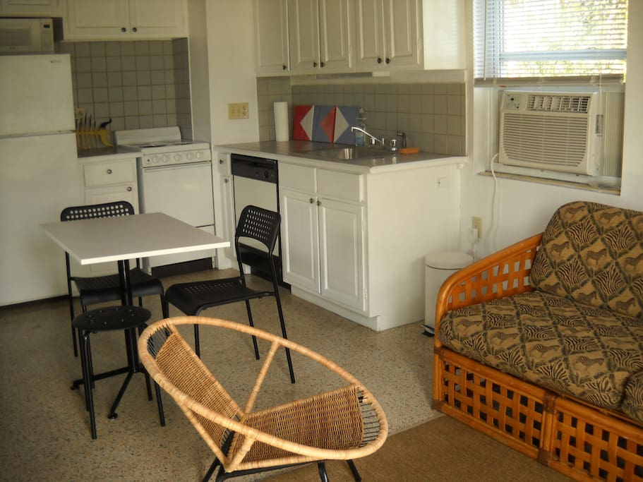 Recently remodeled and furnished this cottage has every thing you need for a home away from home!