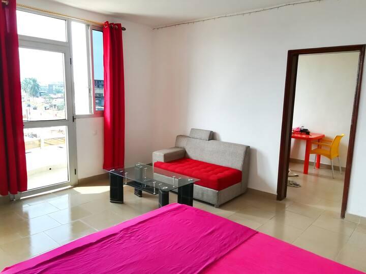 Beau studio climatisé de 50 m² Abidjan Maroc KIMI