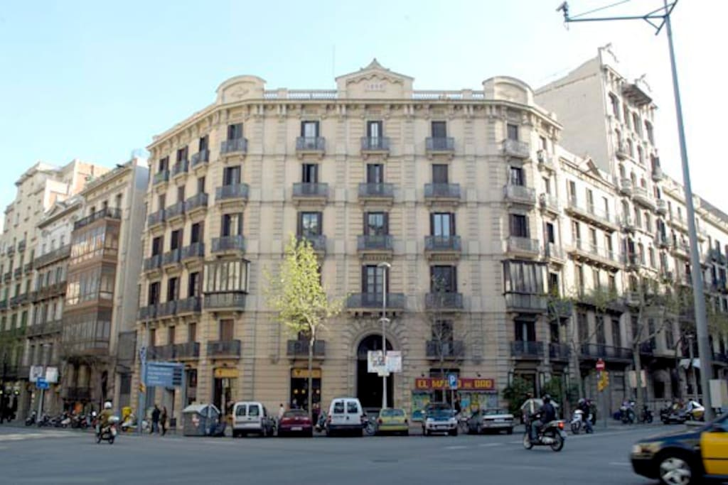 We are located in a beautiful art nouveau building