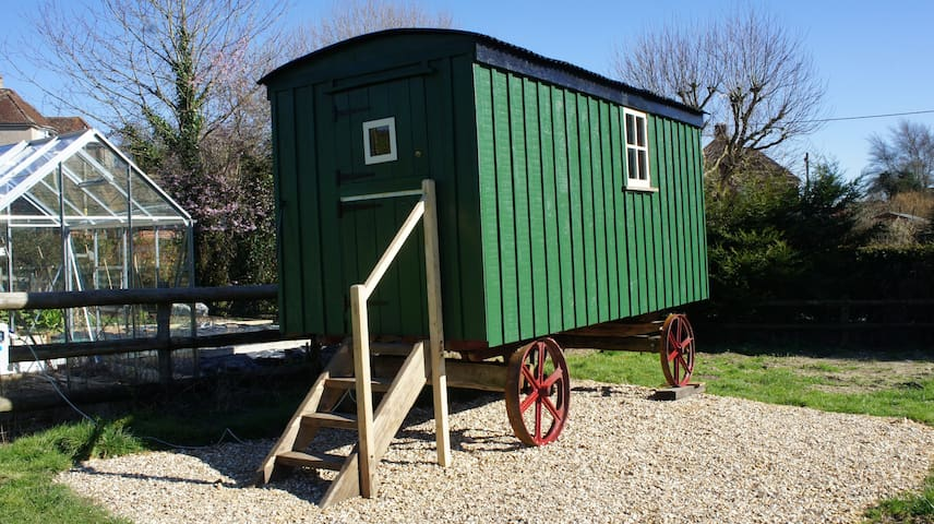 Shepherds Hut @ The Old Mill B&B - Bere Regis