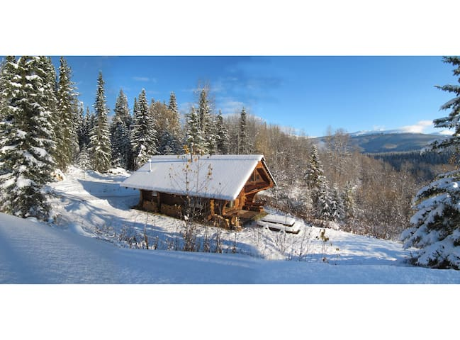 Log Guest Cabin, Vacation Rental  - Smithers - Cabana