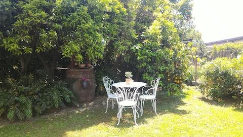 Casa Marinella Pompei og omgivelserne