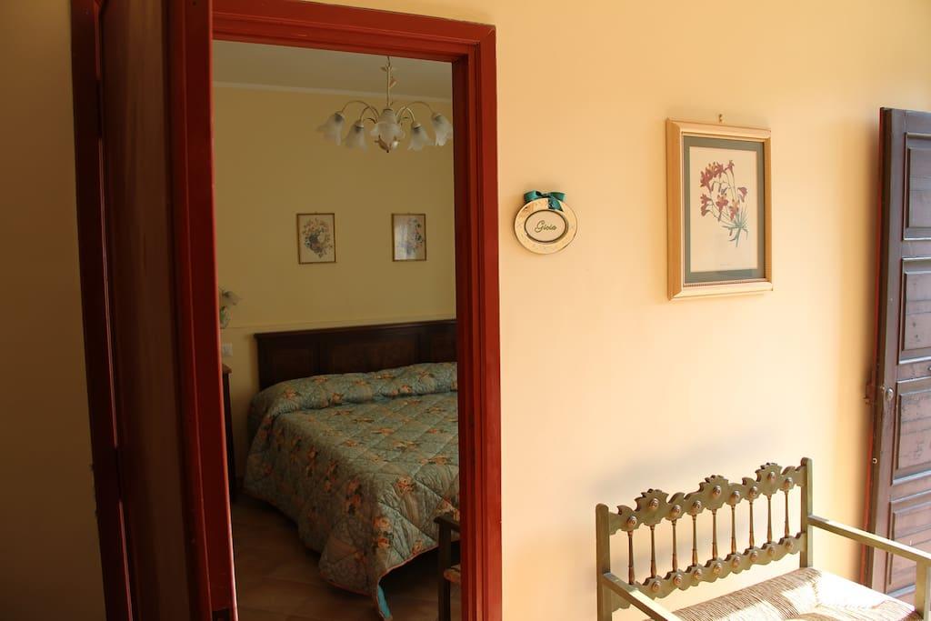Camera matrimoniale con bagno