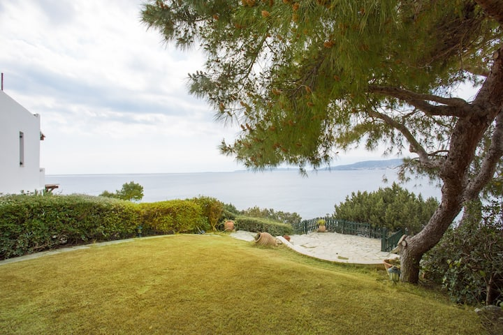 Villa on the sea viewing Spetses