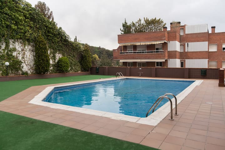 Calm rooms with Swimming Pool