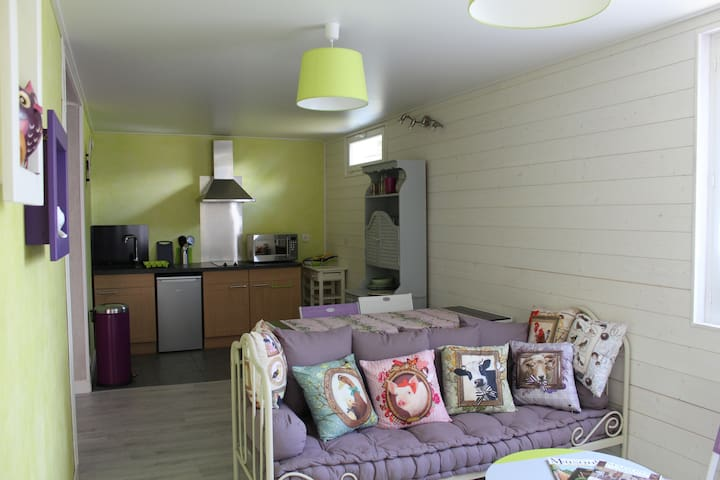 appartement en rez de chalet - Margencel - Byt