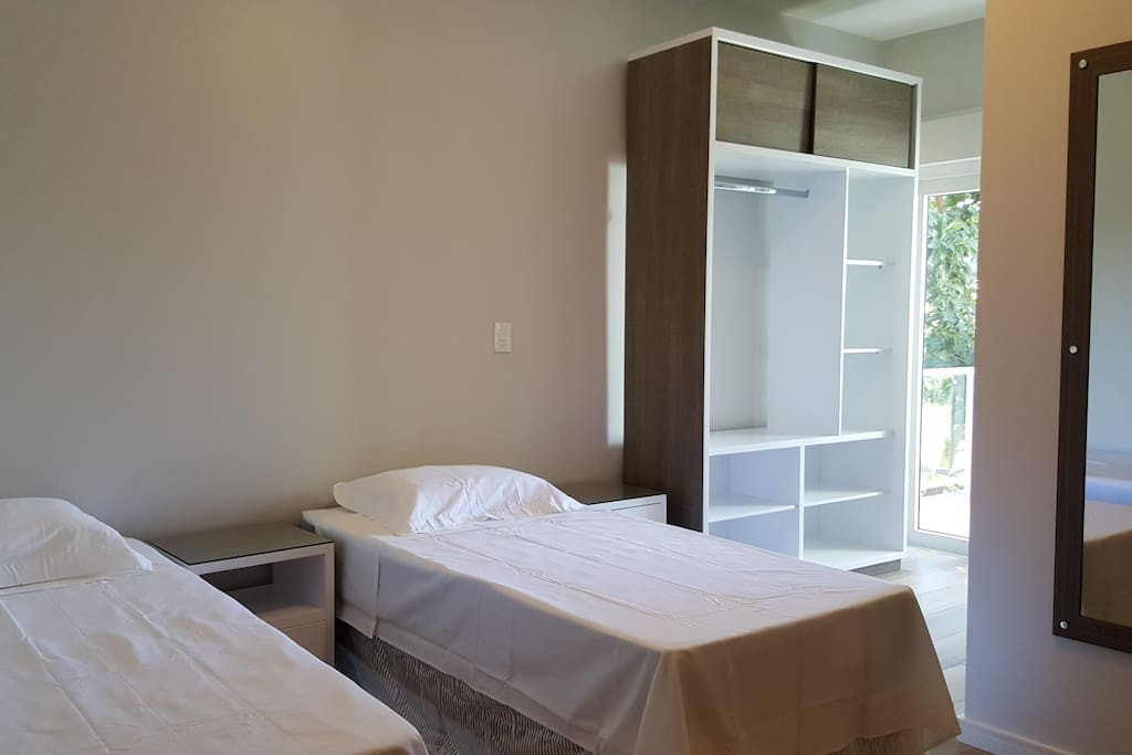 Quarto demi-suite com varanda