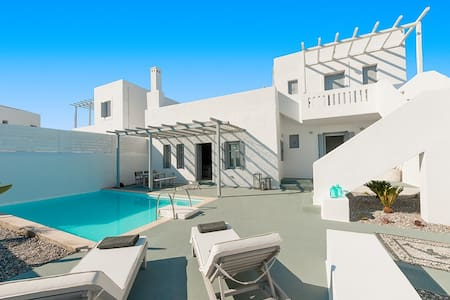 Two-Bedroom Villa with private pool - Lachania