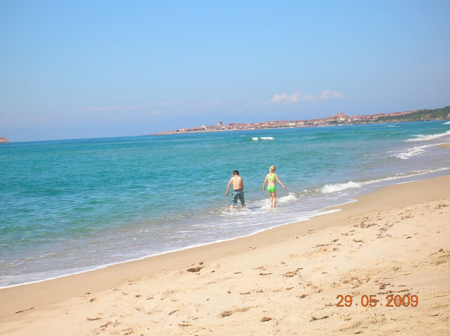 Spiaggia di Badesi (the beach)