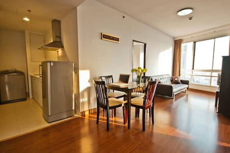 2BR CONDO (Wifi)_Subway,Mall nearby - Bangkok