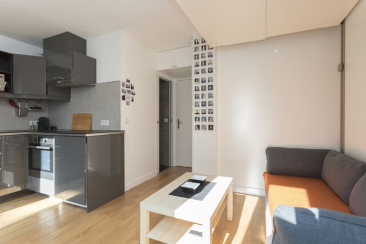 MODERN STUDIO FOR 2 PEOPLE FEW STEP AWAY FROM THE ARC DE TRIOMPHE