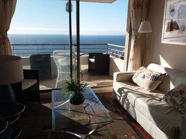 Ideal para descansar, con una hermosa vista al mar