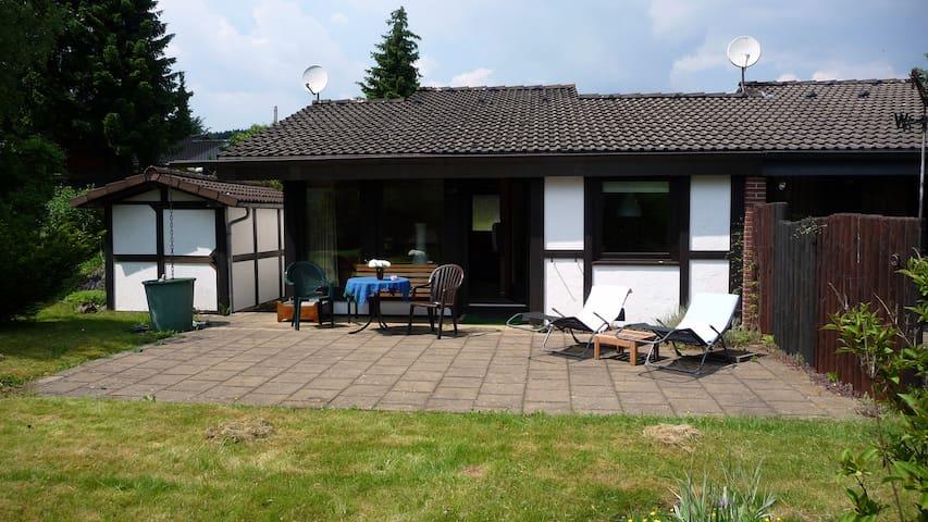 Ferienhaus am Listersee, Sauerland - Meinerzhagen - Haus