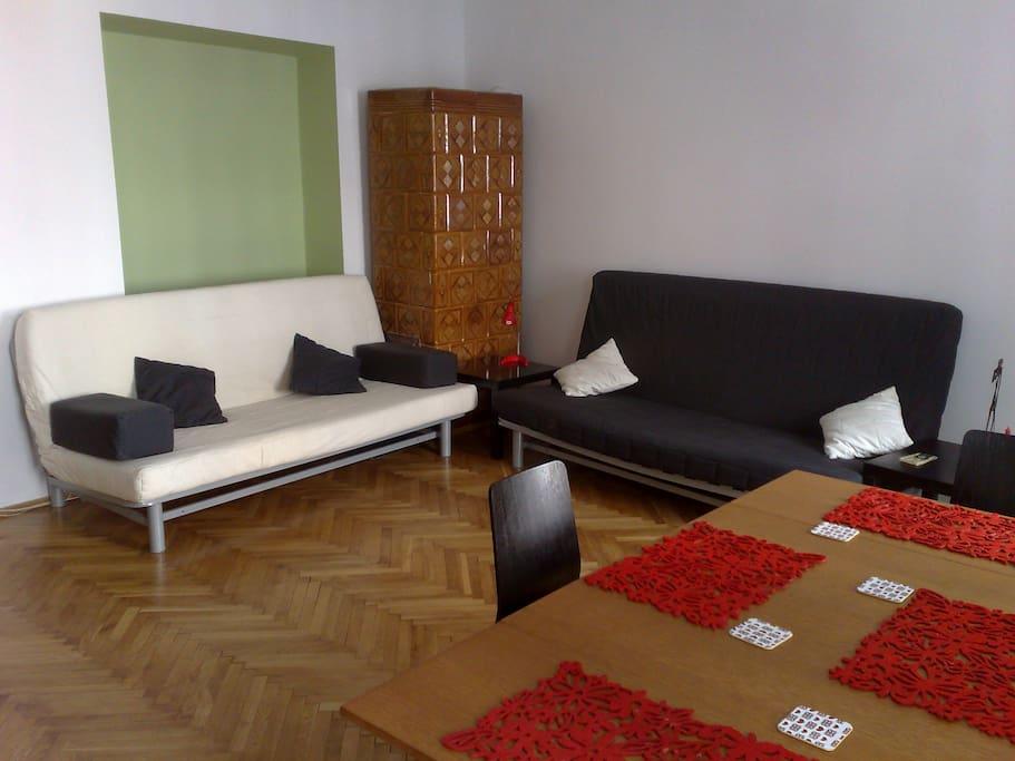 2 sofa beds