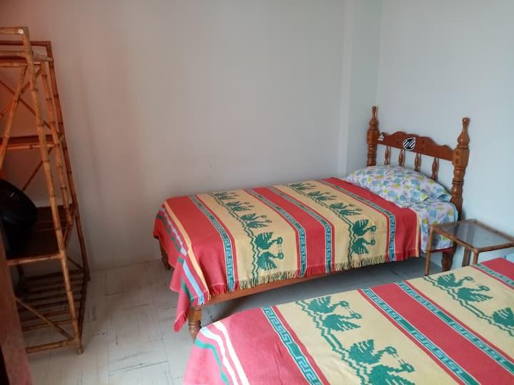 Habitación doble en Punta Hermosa Mamá Vidal