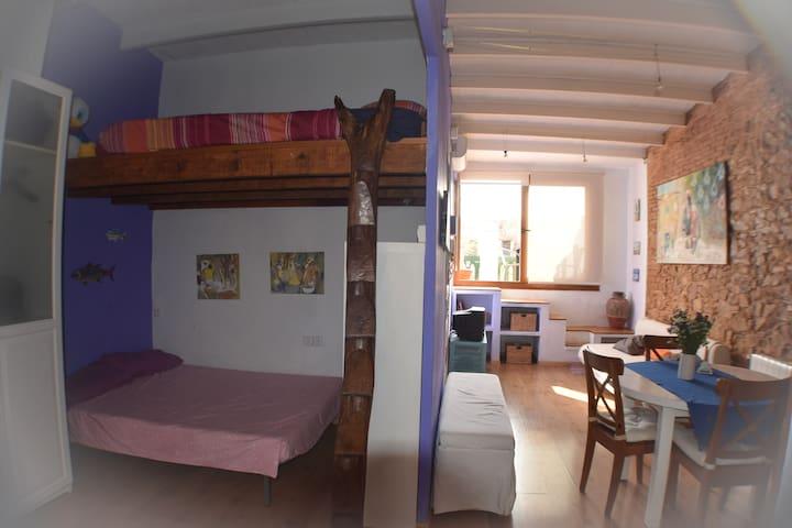 Estudio/loft en pleno Centro de la Costa Brava