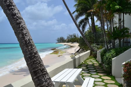 Ocean Front Condo on the South Coast of Barbados!!