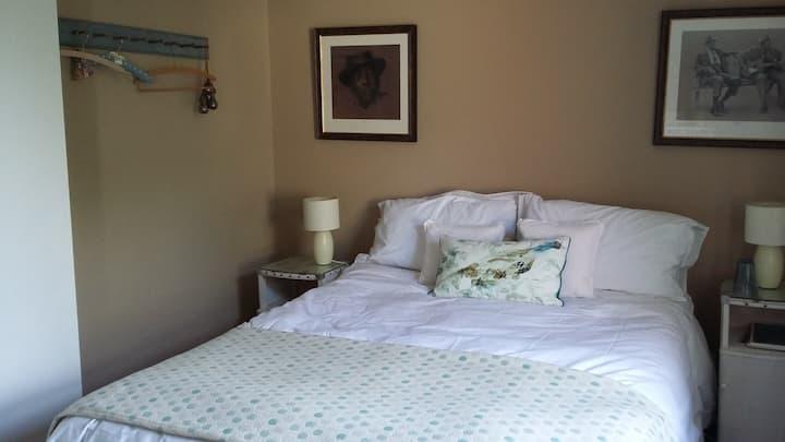 No 12 double bedroom, private bathroom:  Room 2