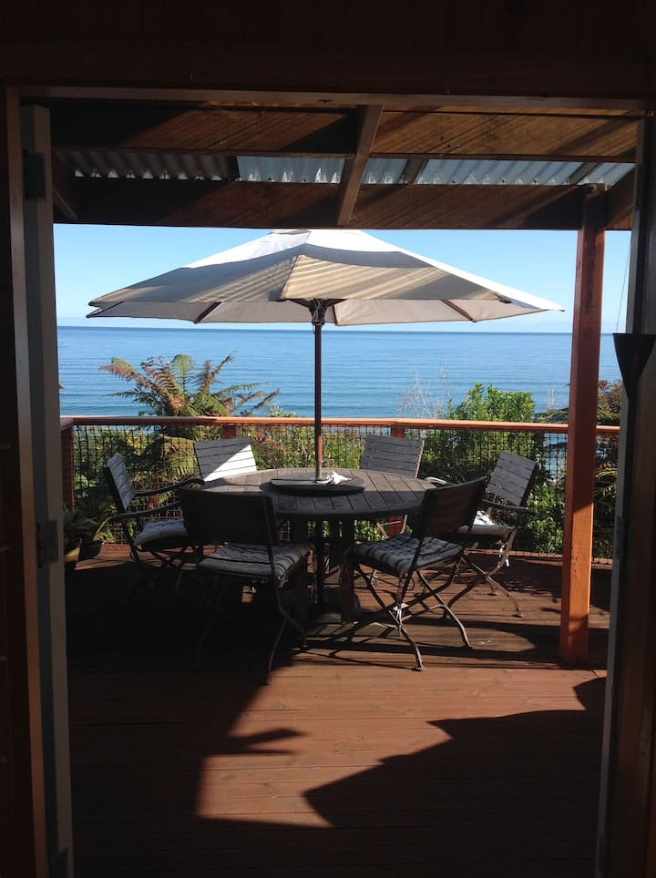 Tairawhiti@Fox River, ocean views, cosy, private