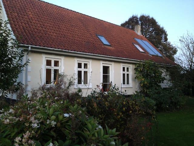 Hyggeligt hus med dejlig udsigt