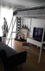 Studio cocooning avec balcon - Chevilly-Larue