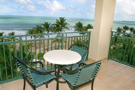 1BR OceanVilla Top Floor, Beachfront & Best Views!