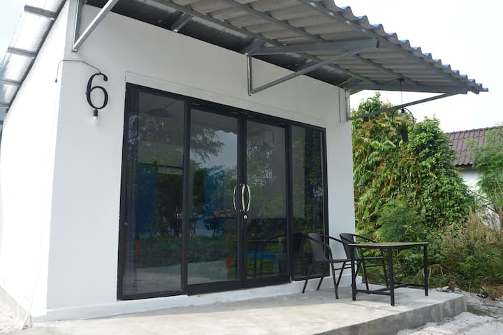 Triple room with view (Aircon & Hot Shower)