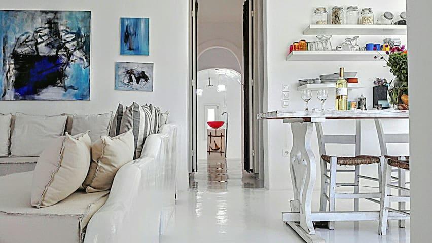Mykonian Art Houses. Casa Zen - Áno Merá - Casa