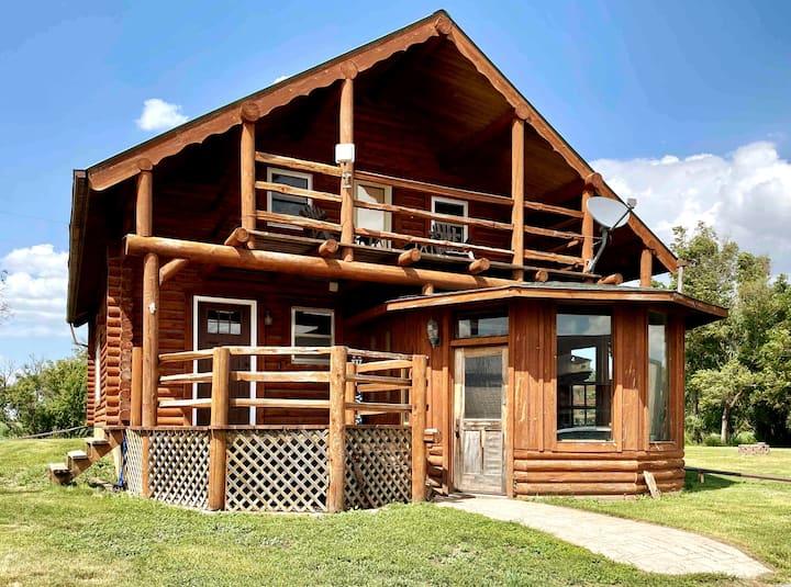 Spacious Cabin on Three Acres