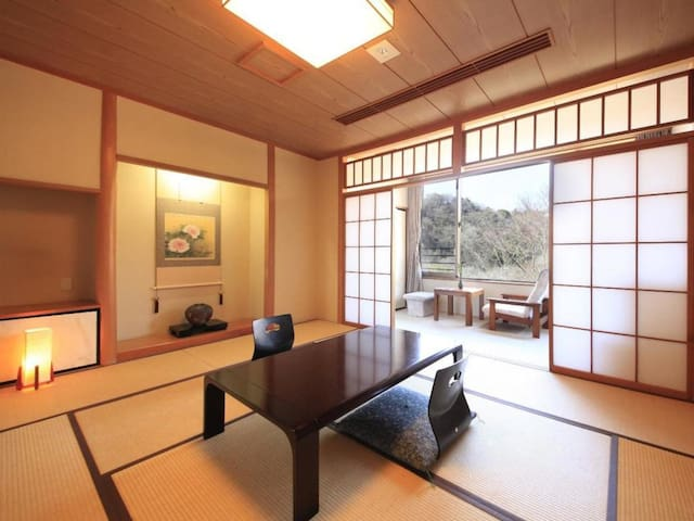 Simple and Sleek, Modern Hot Spring Hotel in Hakone,Dinner and Breakfast Included【From 2 pax】【2食付・和室】