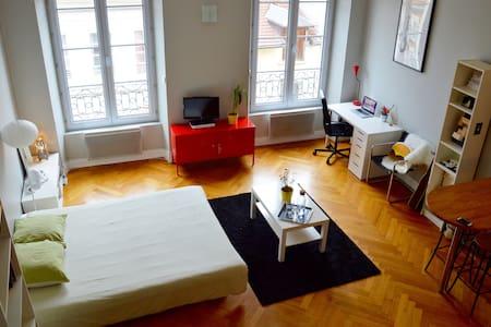 Studio chaleureux en hyper centre - Place Grenette - Grenoble - Wohnung