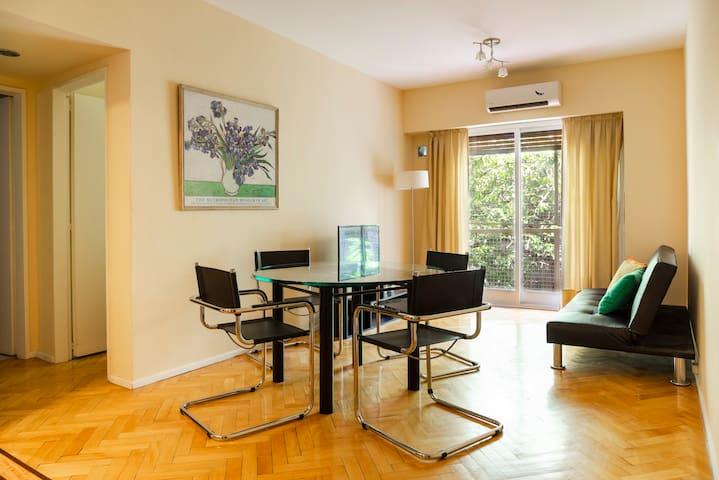 Super 1 Bedroom Apartment,near tube! Palermo Soho!