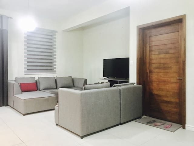 TV and Lounge Area